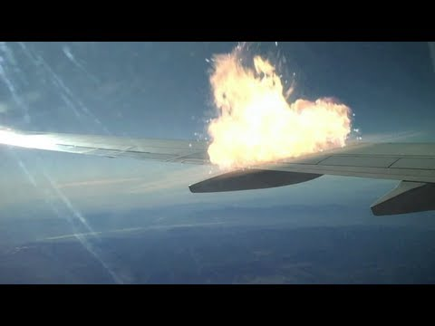 Horrific Plane Crash Caught on Tape (Effects Test)