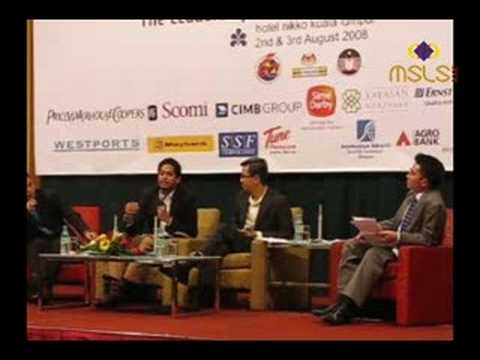 MSLS 2008: Young YBs Forum (Part 4/13)