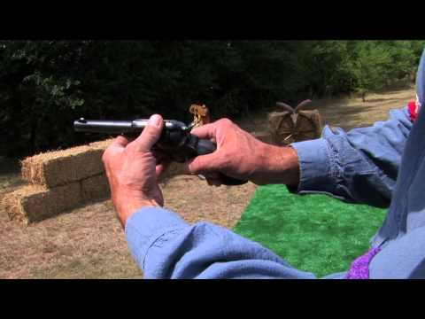 How to Grip a Single Action Revolver - Cowboy Action Shooting - NSSF Shooting Sportscast