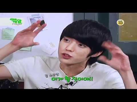 [HQ] INFINITE Sesame Player epi 9 Sungjong and Woohyun AEGYO battle+Sungyeol makes fun of Sungjong