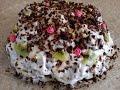 Торт без выпечки из пряников и зефира. Быстрый торт из пряников.