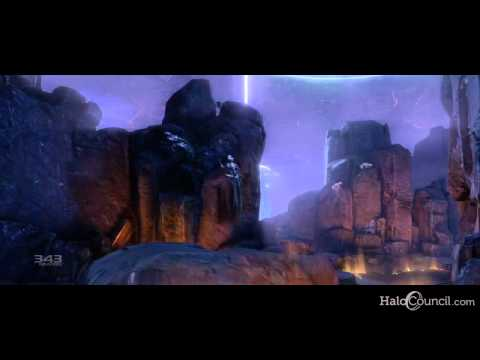 "Halo 4 ""Return of the Forerunners"" Gameplay & Cutscenes"