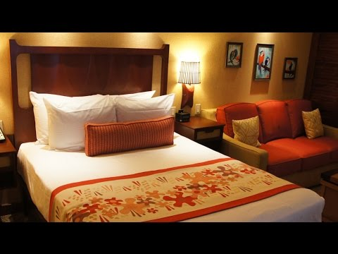 Polynesian Villas Deluxe Studio DVC room tour at Walt Disney World