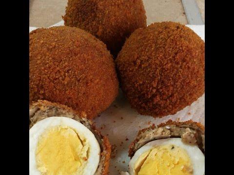 Scotch Egg | Nigerian Food  | Nigerian Cuisine