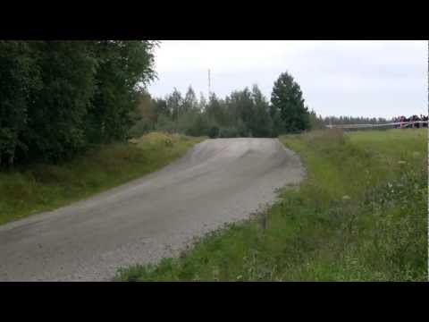 Rally Finland 2012 Evgeny Novikov Crash