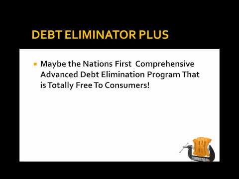 Class 1 part 1 Debt Eliminator Plus