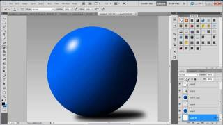 Beginners Photoshop Tutorial:Basic Shading and Highlights