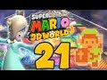 Let's Play Super Mario 3D World Part 21: Rosalina in der Sternwelt