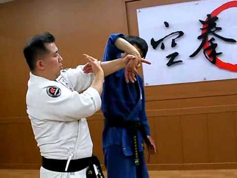 (87)Twist Wrist Lock & Shoulder Lock Combination(Korea jiu jitsu Hapkido)