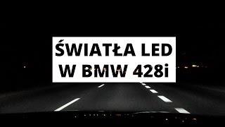 �wiat�a LED w BMW serii 4 - wra�enia z jazdy