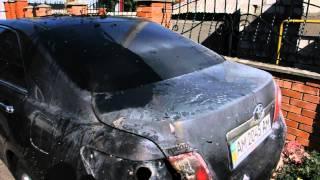 Андрею Федирко подожгли автомобиль