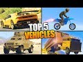 5 VEHICLES YOU NEED TO BUY IN GTA 5 ONLINE!