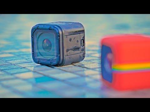 GoPro Hero 4 Session vs Polaroid Cube