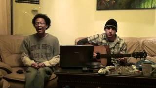 Third Eye Blind/Black Keys/Radiohead Mashup - Background/The Lengths/Fake Plastic Trees (acoustic)