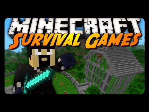 Survival Games - The Secret Stash! - w/ AntVenom & xRpMx13!