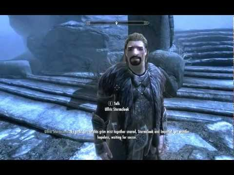 Skyrim: Ulfric in Sovngarde