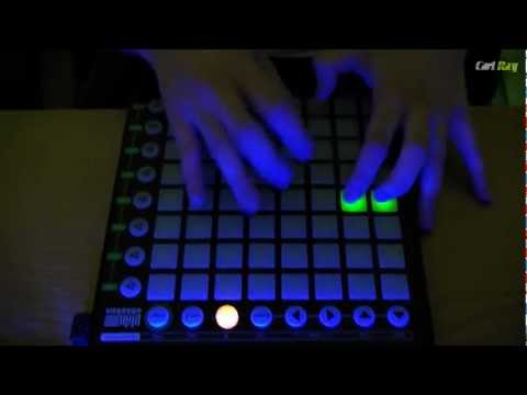 "Novation Launchpad ""Chasing Summers"" Live Routine"
