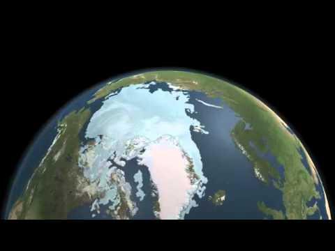 Polo Nord il ghiaccio è al minimo