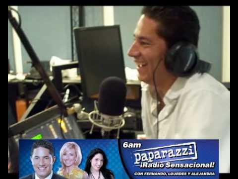 Actores Gabriel Porras y Martha Pabón entrevistados por Fernando Del Rincón
