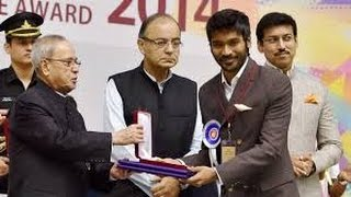 Watch 62nd National Awards 2015 Presented by Pranab Mukherjee to Artistes Red Pix tv Kollywood News 04/May/2015 online