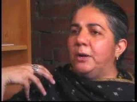 Vandana Shiva: The War on Terror (1 of 2)