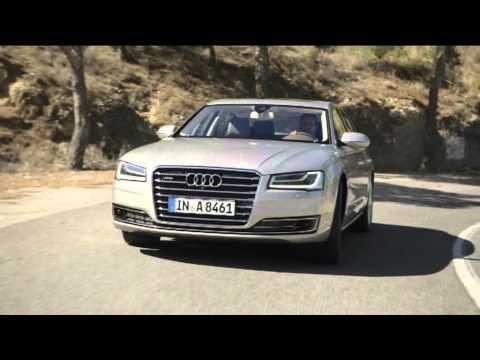 Audi A8L W12 Fahraufnahmen