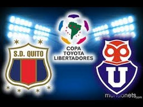 U. de Chile 6 vs Deportivo Quito 0 copa libertadores 2012 (Partido Completo)