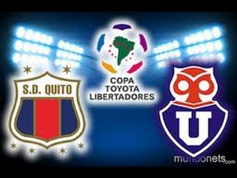 U. de Chile 6 vs Deportivo Quito 0 copa libertadores 2012 (Partido Completo)
