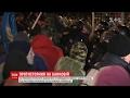 П'ятьох протестувальників, затриманих у центрі Києва під час сутичок із поліцією, відпустили