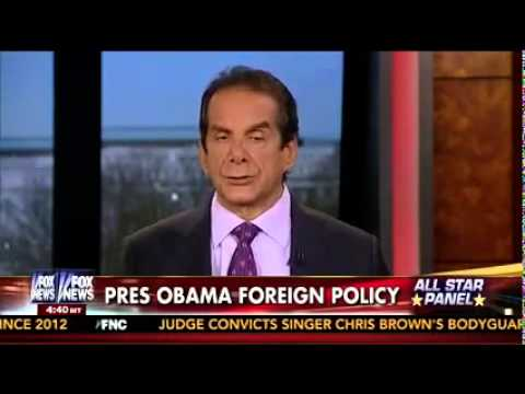 Krauthammer Says This is the Stupidest Line Ever Uttered By An American President