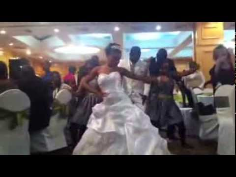 Wedding exit dance