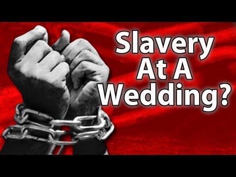-Slavery--Themed Wedding?