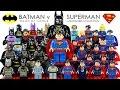 Batman v Superman: Dawn of Justice 2016 LEGO® Minifigure Collection DC Comics Super Heroes
