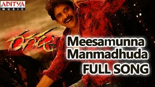 Meesamunna Manmadhuda Full Song || Ragada