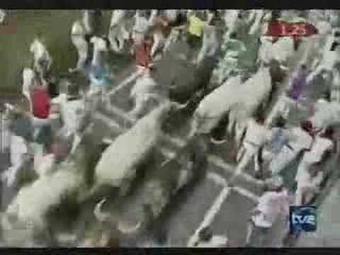 Encierro San Fermín - 7 de Julio de 2005