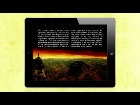The Magic of Reality for iPad by Richard Dawkins - trailer
