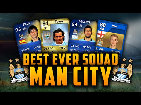 BEST EVER MAN CITY SQUAD! w/ 93 AGÜERO! + MORE! | FIFA GENERATIONS