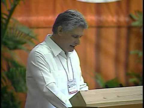 Clausura del VI Congreso del Partido Comunista de Cuba 1 de 3