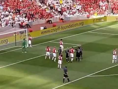 Dennis Bergkamp's Testimonial : Arsenal Vs Ajax 22-07-06 Second Half