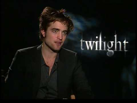 Robert Pattinson interview for Twilight movie