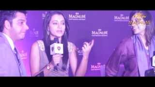 Trisha Launches Magnum Ice Cream
