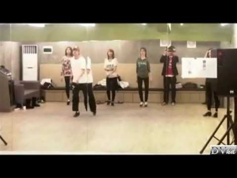 After School - Let's Step Up  (dance/tap practice) DVhd