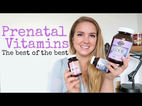 WHICH PRENATAL VITAMINS DO I TAKE? || MY FAVORITE GARDEN OF LIFE PRODUCTS - UCR6h__sUqPfY9NkaFK1cFHg