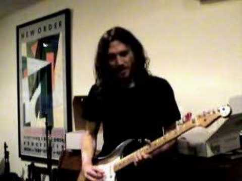 John Frusciante - Dani California (Part 1)