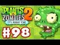 Plants vs. Zombies 2: It's About Time - Gameplay Walkthrough Part 98 - Señor Piñata (iOS)