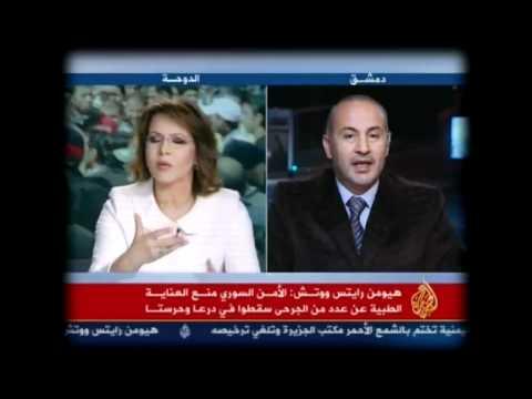 شاهد عشرين مليون سوري حطموا التلفاز بعد مشاهدة هذه المقابلة