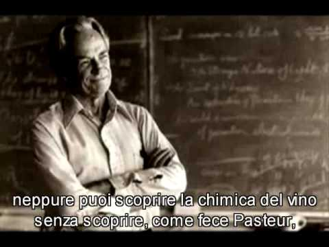 Richard Feynman:L'universo in un bicchiere di vino