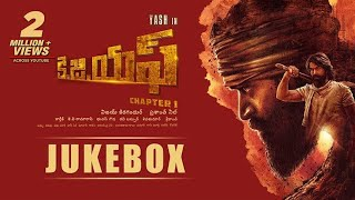 KGF Chapter 1 Telugu Jukebox