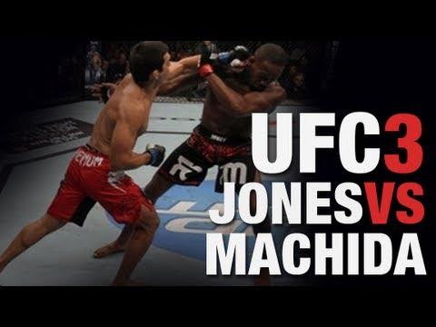 UFC 140: Jon Jones vs Lyoto Machida full UFC undisputed 3 Fight  Remake