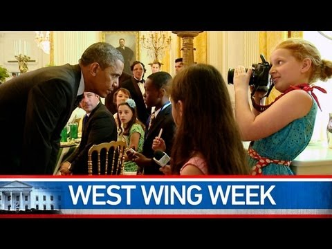 West Wing Week: 07/12/13 or Bring it On Brussels Sprout Wrap!